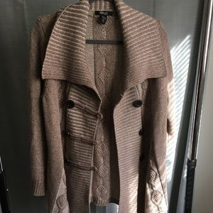 Style & Co Double Breasted Cardigan